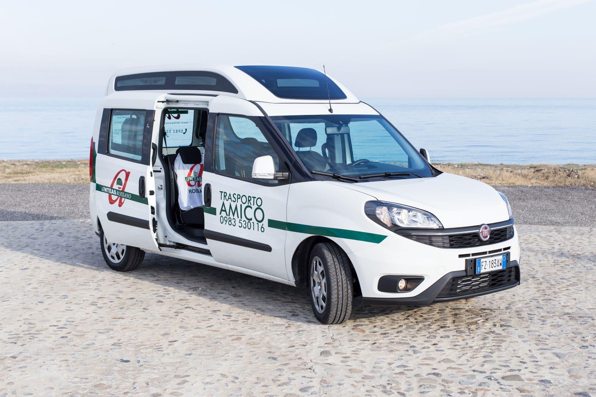 Trasporto Amico - Fiat Doblò - ANTEAS Rossano