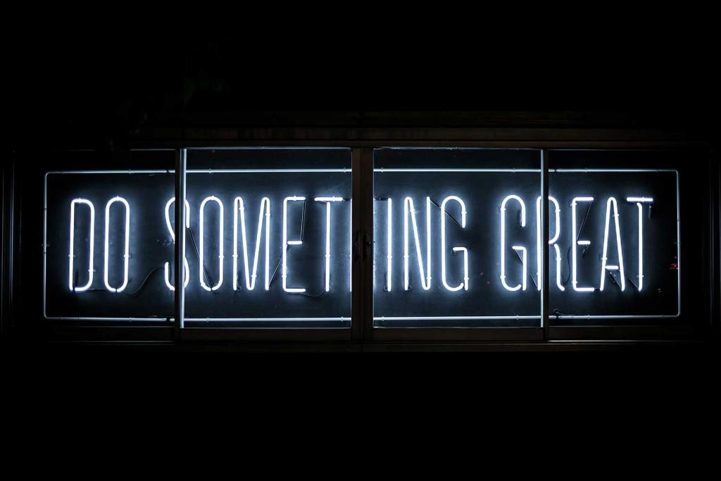 Do something great - Brand reputation