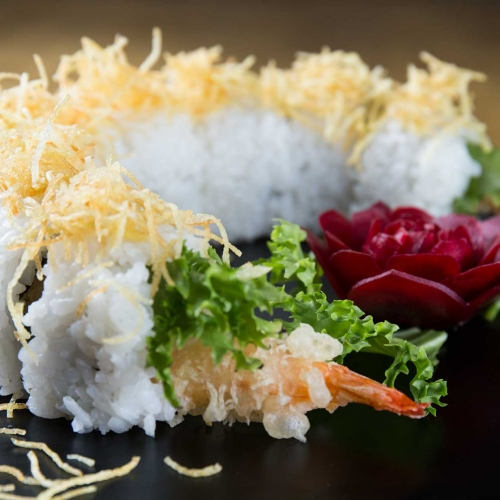 Fotografia pubblicitaria - Piatto sushi - Tokyo Fusion Sushi Corigliano-Rossano