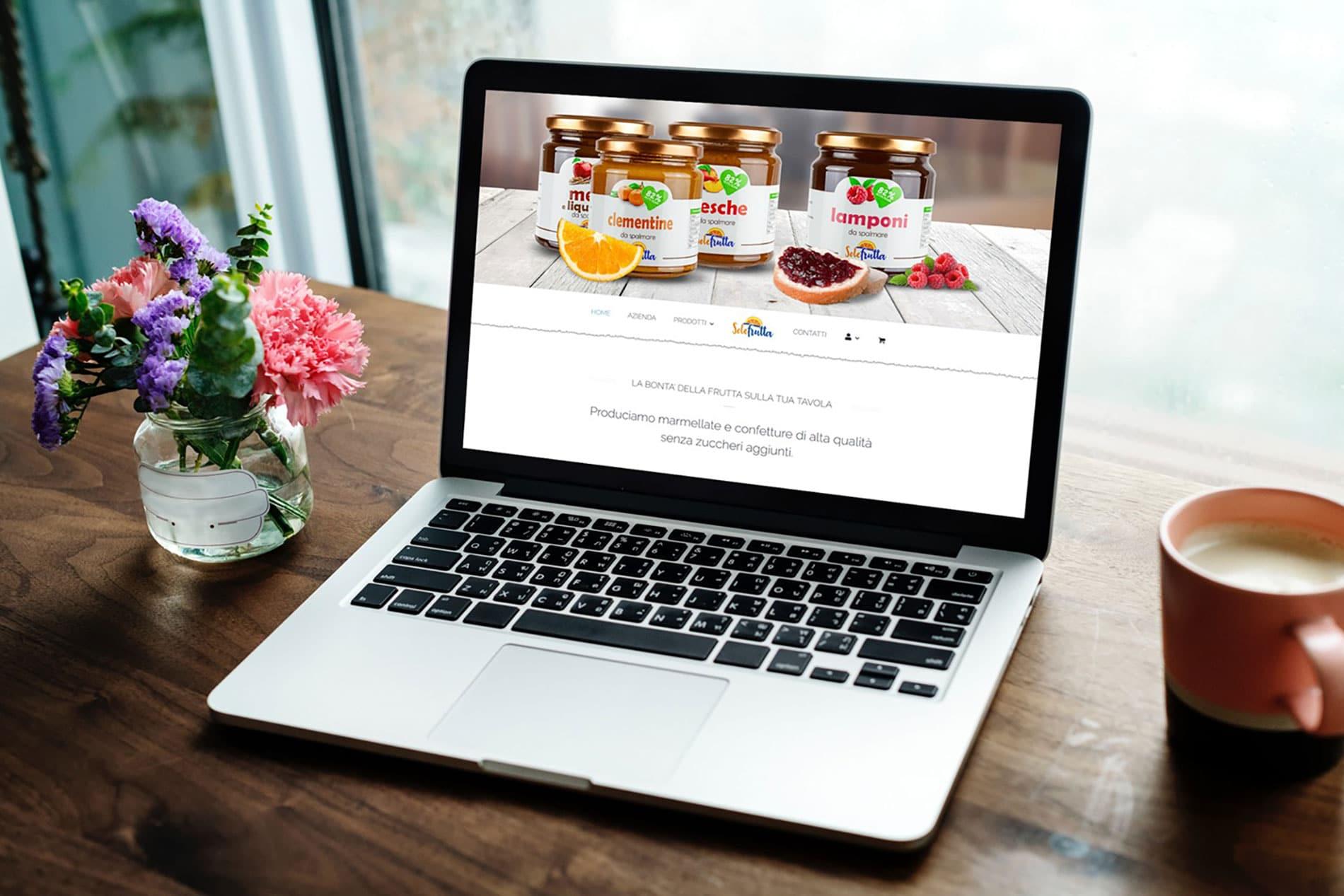 Solefrutta, il nuovo layout del portale