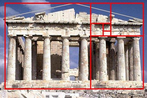Pantheon Atene - Spirale aurea