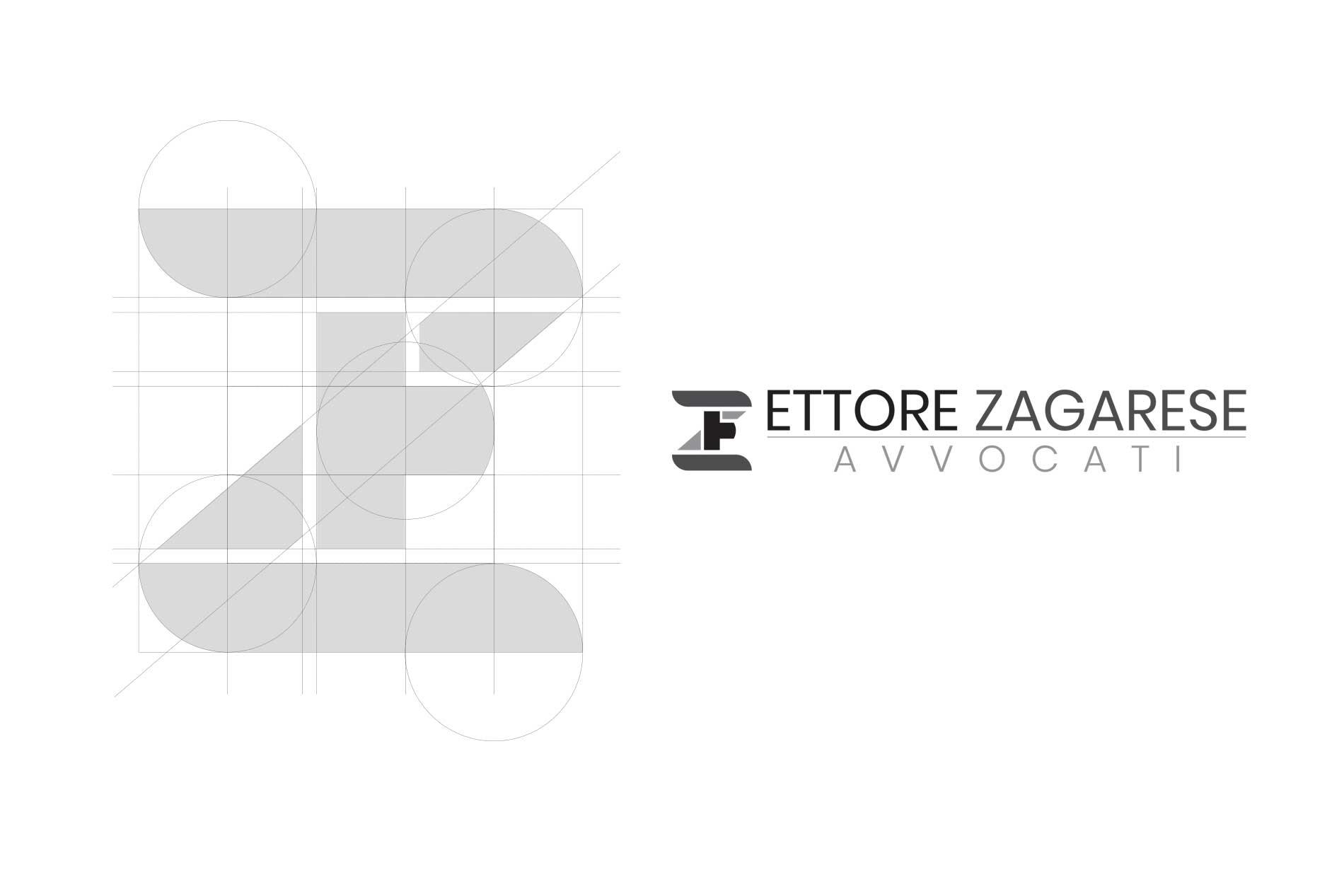 Costruzione del logo per lo Studio Legale Ettore Zagarese